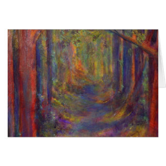 Forest Tunnel Card