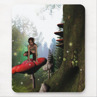 Forest twinkles fairy mousepad