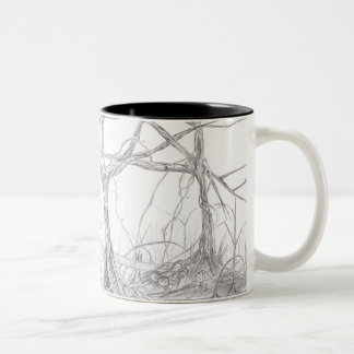 Forest Two-Tone Coffee Mug