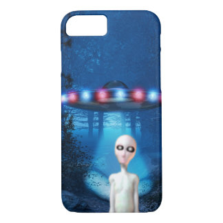Forest UFO Close Encounter iPhone 7 Case
