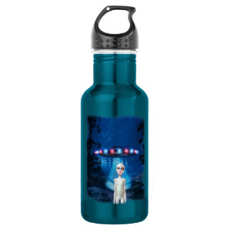Forest UFO Close Encounter Liberty Bottle