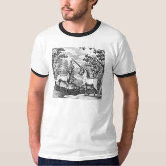 Forest Unicorn and Deer T-Shirt