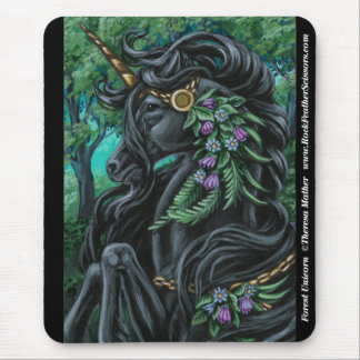 Forest Unicorn Mousepad