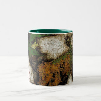 Forest Walk Abstract Expressionism Mug