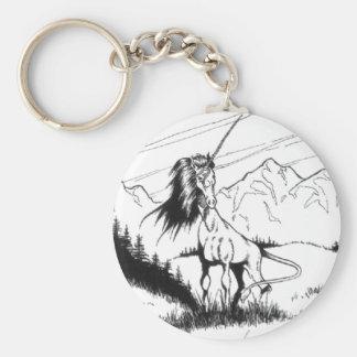 Forest Wanderer Basic Round Button Keychain