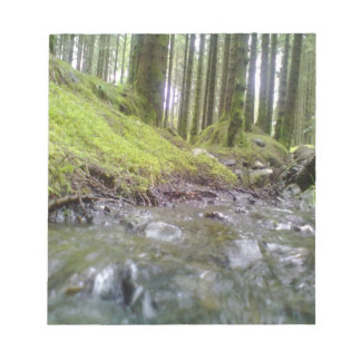 Forest & Water Note Pad