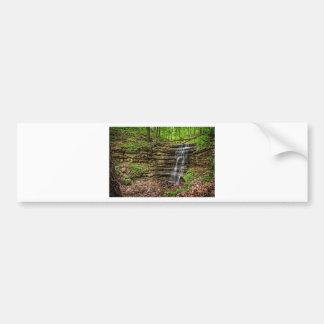 Forest Waterfall Bumper Sticker