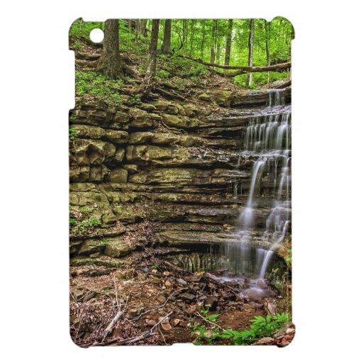 Forest Waterfall iPad Mini Covers