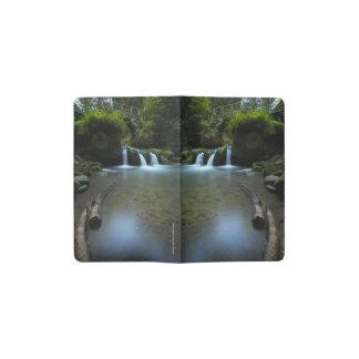 Forest Waterfall Pocket Moleskine Notebook