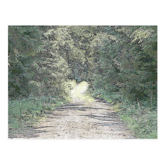 Forest way postcard