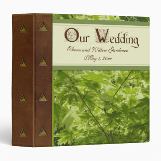 Forest Wedding Album Binder