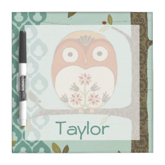 Forest Whimsy I Dry Erase Board