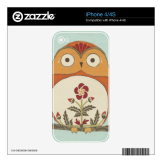 Forest Whimsy II Decal For The iPhone 4S