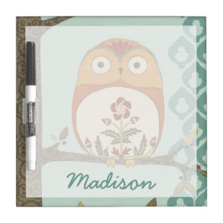 Forest Whimsy II Dry-Erase Board
