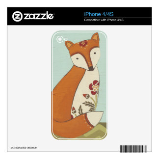 Forest Whimsy III Decal For The iPhone 4S