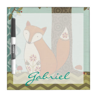 Forest Whimsy IV Dry Erase Board