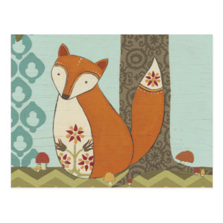 Forest Whimsy IV Postcard