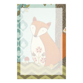 Forest Whimsy IV Stationery