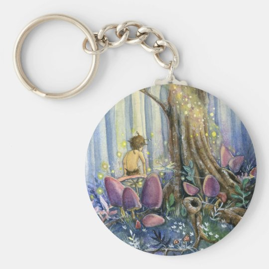 Forest Whisperings Keychain