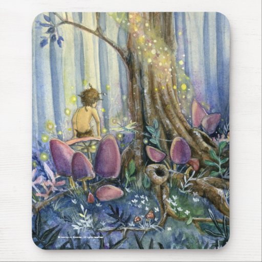 Forest Whisperings Mouse Pad