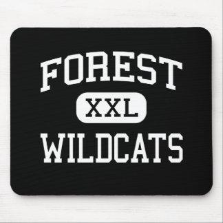 Forest - Wildcats - High School - Ocala Florida Mouse Pads