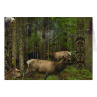 FOREST WILDLIFE Greeting Cards