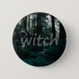 Forest Witch Button