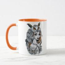 Forest witch mug