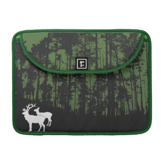 Forest with Deers MacBook Pro Sleeve