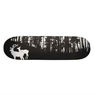 Forest with Deers Skateboard Deck