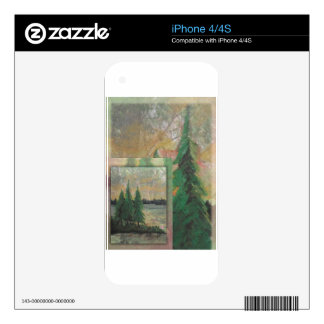 Forest witness iPhone 4S skin