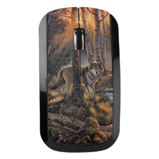 Forest Wolf Wireless Mouse