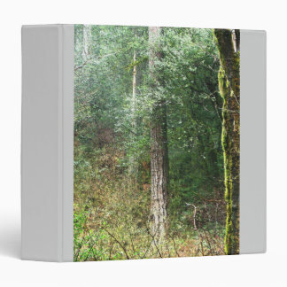 Forest Woods Leaves Trees Hiking Scenic Oregon Binder