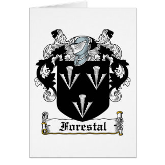 Forestal Family Crest Card
