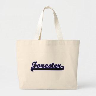 Forester Classic Job Design Jumbo Tote Bag