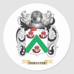 Forester Coat of Arms Sticker