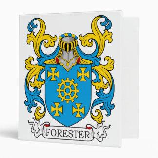 Forester Family Crest 3 Ring Binder