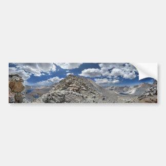 Forester Pass - John Muir Trail - Sierra Nevada Bumper Sticker