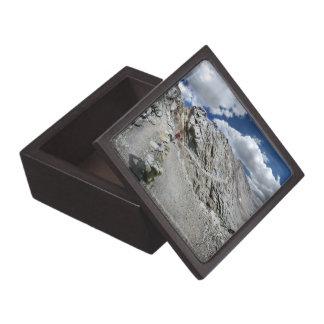 Forester Pass Switchbacks - John Muir Trail Jewelry Box