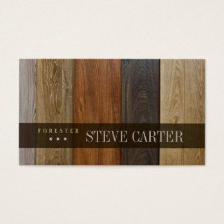 Forester Wood Forest Boards Floor Woodworker Card