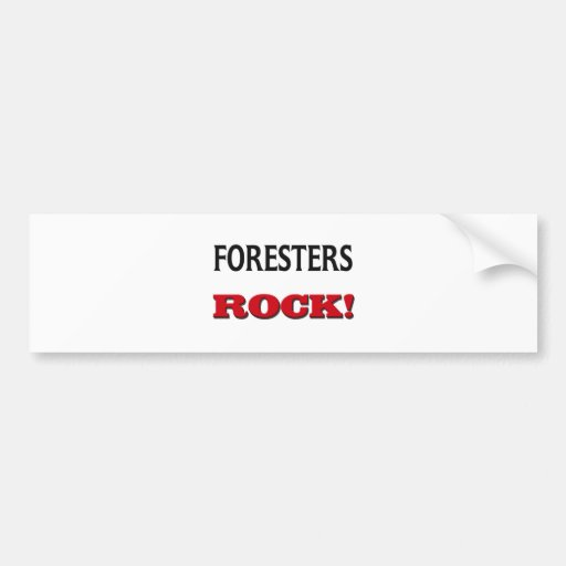 Foresters Rock Bumper Stickers