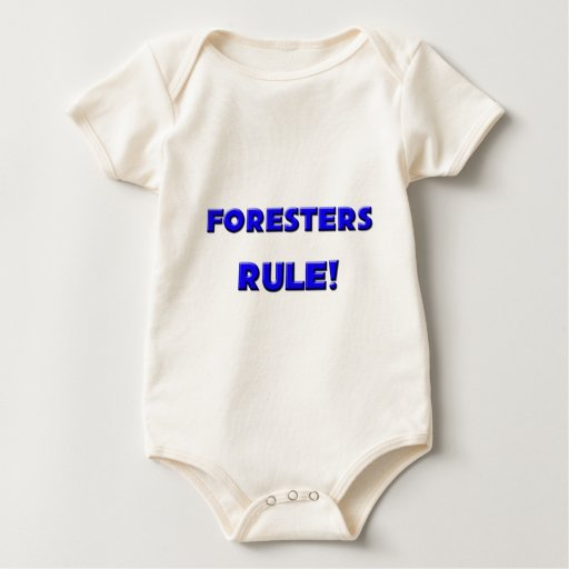 Foresters Rule! Baby Bodysuit