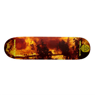 forestfire, highly-flammable-2, Wildfire Record... Skateboard