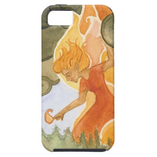 """""""ForestFire """" iPhone 5 Carcasa"""