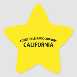 Foresthill-Back Country California Stickers