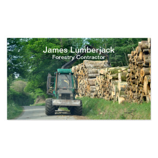 Forestry industries business cards