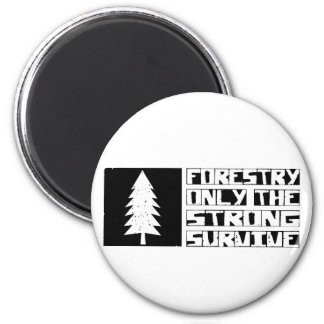 Forestry Survive Magnet