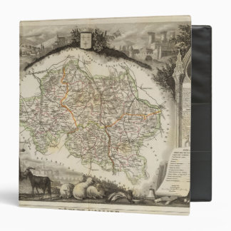 Forests and city boundaries vinyl binder