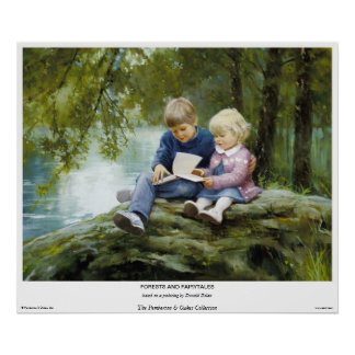 Forests And Fairytales Print