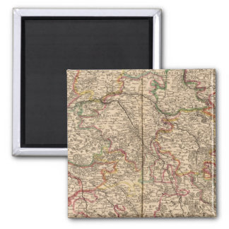 Forests and settlements in France Magnet